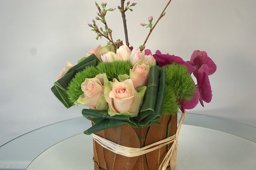 Floral arrangement designed by Garden Party Flowers Vancouver