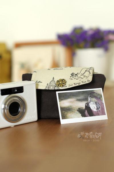 麂皮絨製那秋相機包
