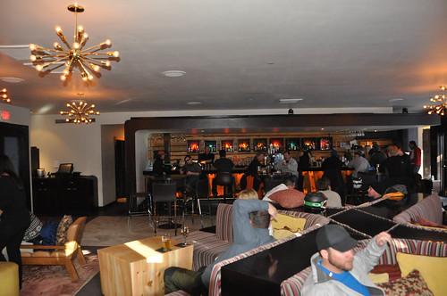 Lounge Bar del Hotel Sky