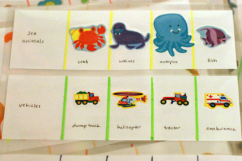sea animals & vehicles