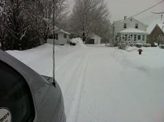 April Fool (Anen) Tags: snow nb fredericton aprilfool april12011