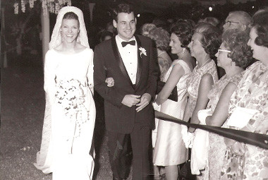 Steve and Cokie Roberts Wedding