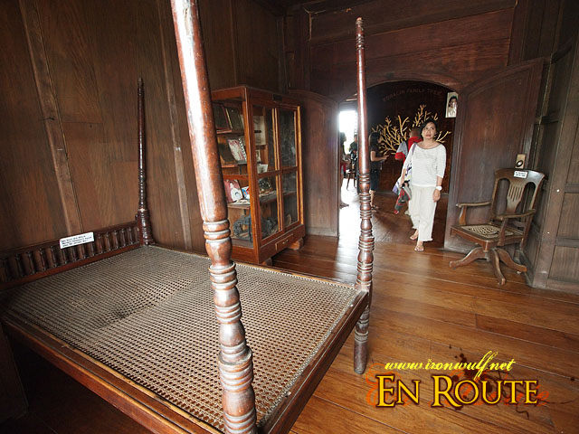 The Bed and the room Ferdinand Marcos was born