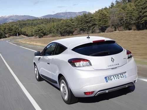 Megane Coupe: Version de 2 puertas del Renault Megane