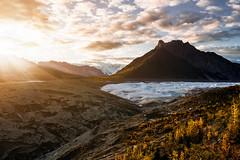 Oh Alaska... (Hille Thomasson) Tags: alaska mc carthy kennicott gletscher stwrangellelias nationalpark eis moräne fujifilm xpro2