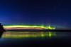 Northern Lights over lake Toisvesi (ArtDvU) Tags: northern lights aurora borealis finland virrat toisvesi lake lakescape landscape canon eos 7d mark ii sky night nightscape nightsky reflection stars wideangle 1020 evening fall autumn auroras pirkanmaa