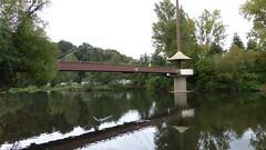 Brücke über die Nahe bei Bad Münster am Stein-Ebernburg