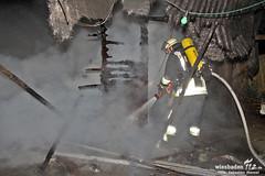 Gartenhüttenbrand Heßloch 25.01.11