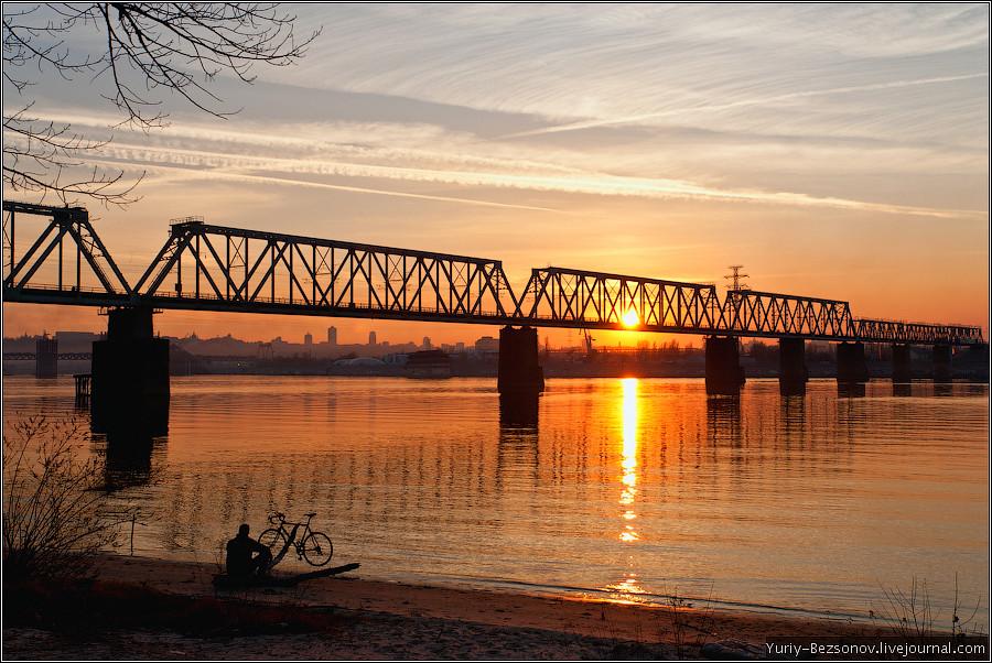 Киев, мост им. Петровского