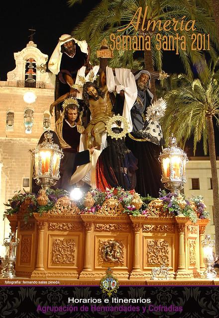 Portada Programa Semana Santa Almería 2011