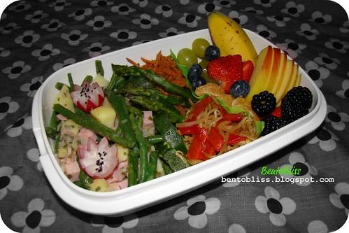 Salade liegeoise bento - 27.01.2011