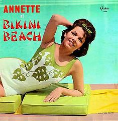 Annette at Bikini Beach