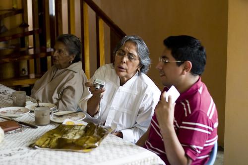 Tia Sofi, Ruth, Marco