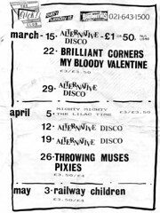 """My Bloody Valentine & Lilac Time flyer 1988 <a style=""""margin-left:10px; font-size:0.8em;"""" href=""""http://www.flickr.com/photos/58583419@N08/5400636781/"""" target=""""_blank"""">@flickr</a>"""