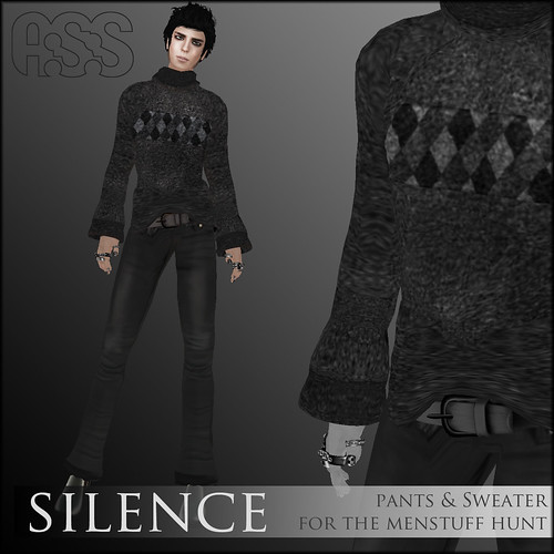 A:S:S, Silence outfit, for the Menstuff hunt