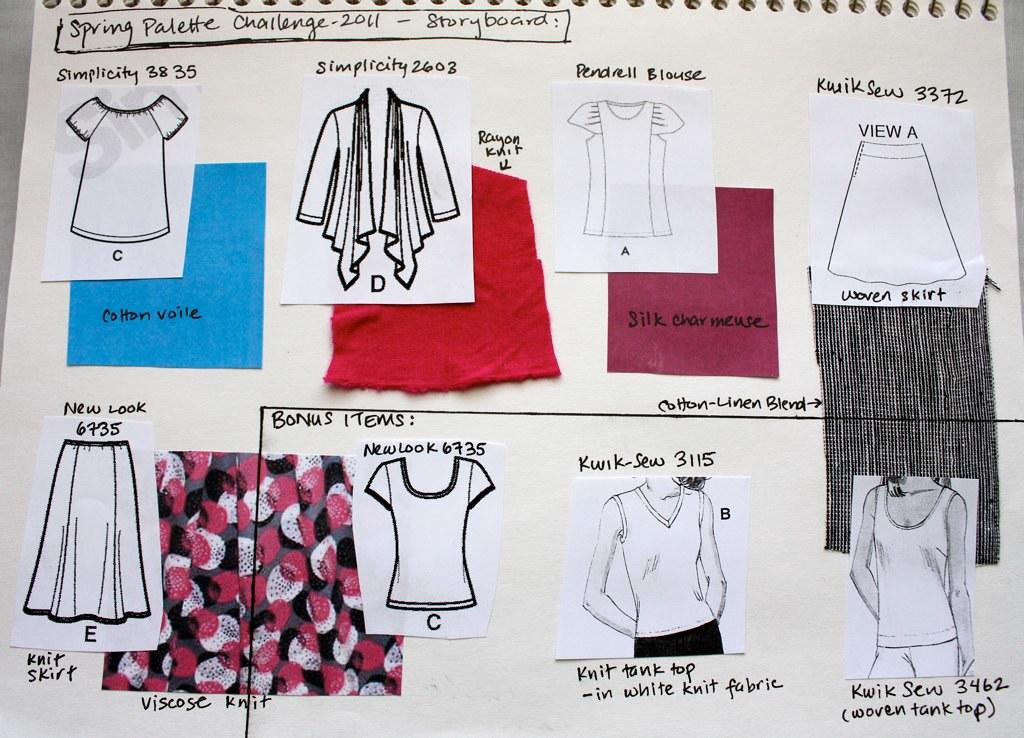 spring challenge 2011 storyboard