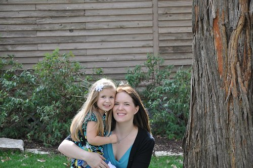 Laci and Mommy 2