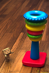 Order - your doing it wrong Danbo (ronny..) Tags: blue red baby green tower yellow toy order rings reverse hardwood odc tumbler danbo revoltech danboard ourdailychallenge