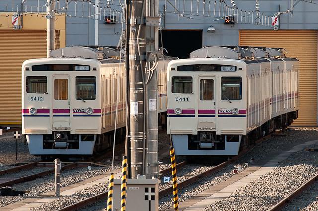 京王電鉄6000系 2コテ集結