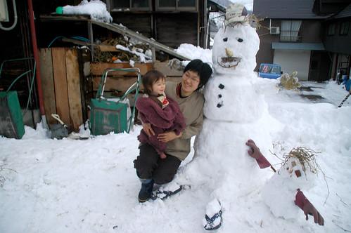 snow folk and real folk