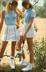 1966 tennis fashion (april-mo) Tags: 1966 tennis miniskirt the60s vintagemagazine the1960s vintagefrenchmagazine tennisfashion 1966magazine vintagetennisfashion 1966tennisminiskirt