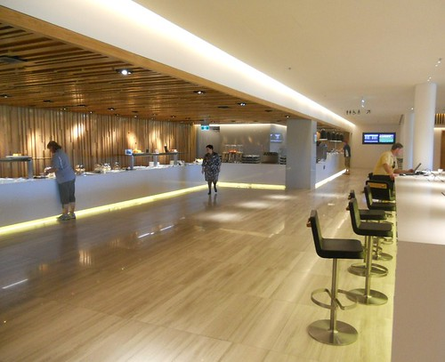 The New Canberra Qantas Club Lounge
