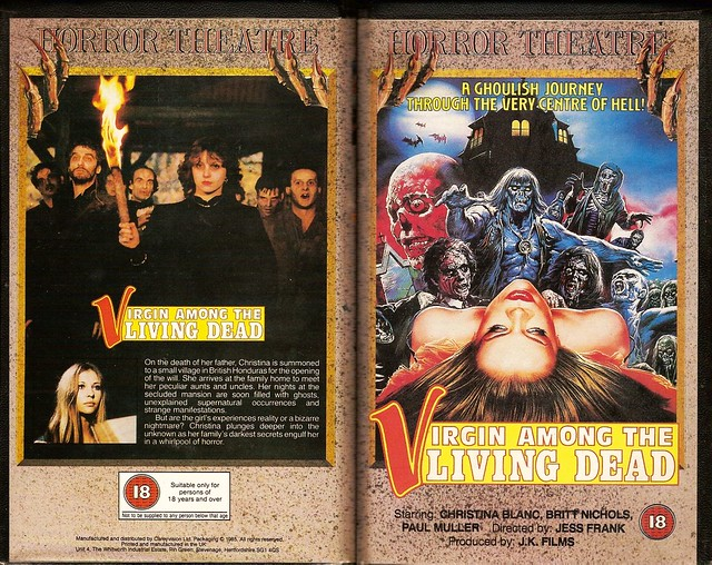 Virgin Among The Living Dead (VHS Box Art)