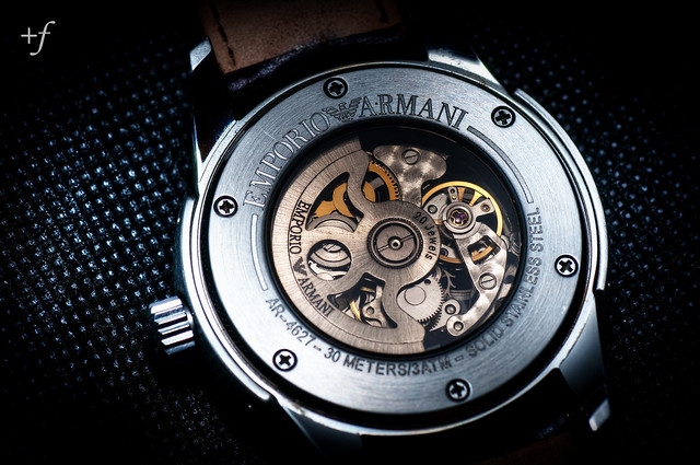 watch automatic armani emporio