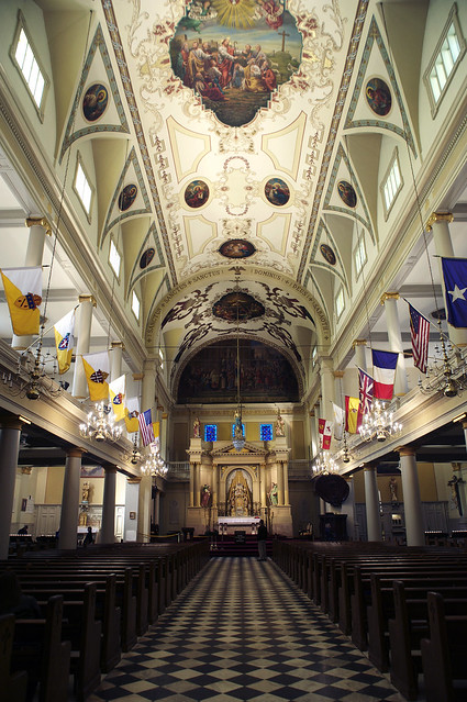 Jackson Square Cathedral inside