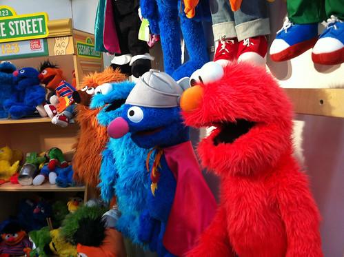 Living Puppets auf der Spielwarenmesse 2011