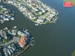 Air Tour America Aerial Photography (Air Tour America) Tags: homes water nj aerialphoto oceancity aerialphotography intracoastal inlandwaterway airtour airtouramerica