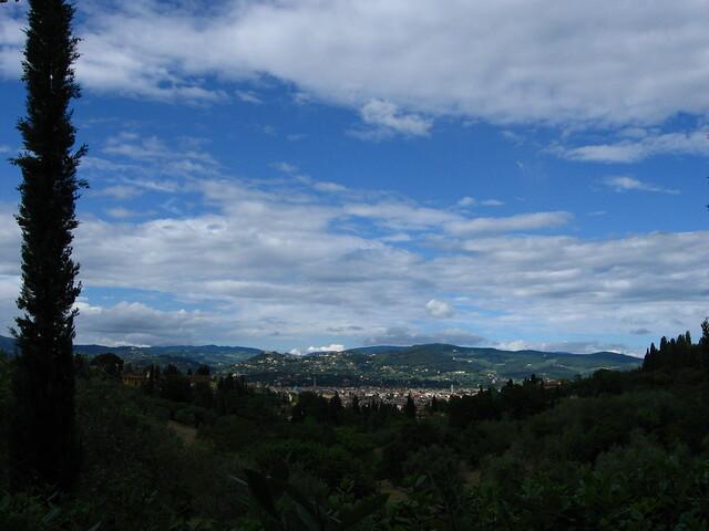 フィレンツェの風景のフリー写真素材