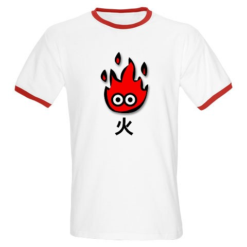 Ringer T-Shirt - Fire (Japanese)??????