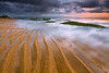 towards the finish line (tropicaLiving - Jessy Eykendorp) Tags: light bali seascape beach nature lines sunrise canon reflections indonesia landscape sand sandy wave textures lee ripples filters 1022mm sanur gnd canoneos50d pantaikarang