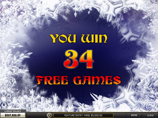 free From Russia with Love slot bonus game win