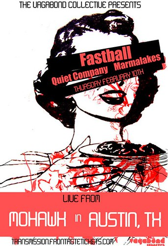Fastball and QC show poster
