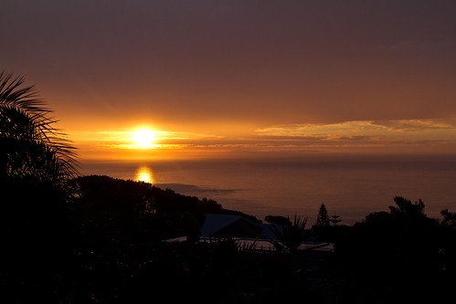 Sunset at Villa Marta, Camps Bay