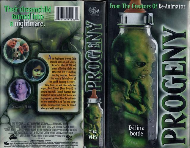 PROGENY (VHS Box Art)