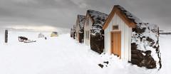 """An old Turf farm """"Glaumbær"""" (jonrrr) Tags: iceland ísland sjór bátur skagafjörður fiskur brú torfbær"""