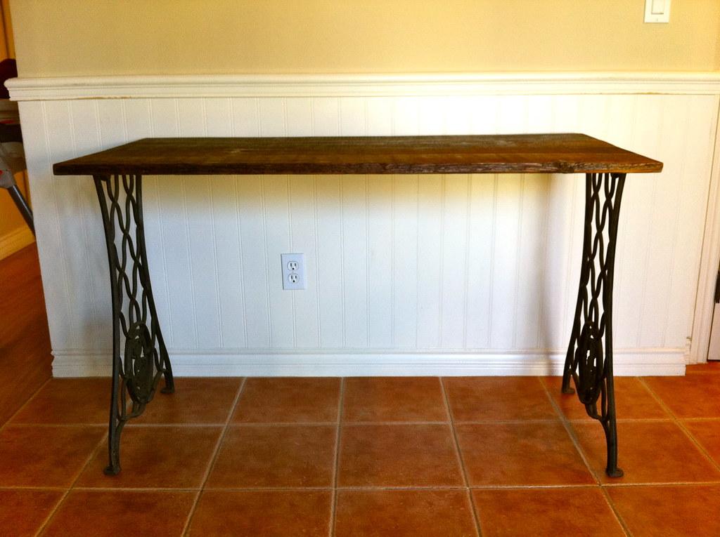 Singer Reclaimed Wood Desk
