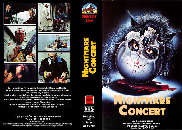 Nightmare Concert (VHS Box Art)