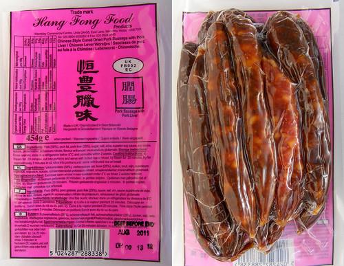 Verpakking Chinese Worstjes
