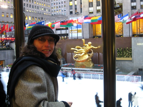 Mary at Rockefeller Center