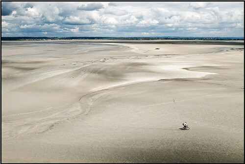 The Bay of Mont St-Michel, on the border of Brittany and Normandy. Photo: Jean-Christophe Dichant