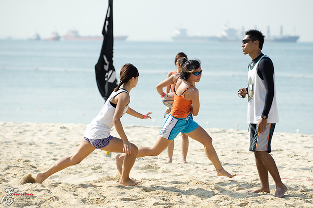 Beach Touch Rugby - 001