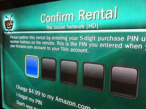 TiVo - Confirm Rental
