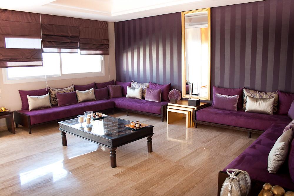 Salon Marocain Villa Moderne