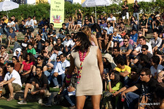 SULAFEST 2011 The solo dancer (Raju Bist) Tags: music food wine nashik sulafest2011