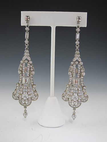 Art Deco Bridal Earrings at Bridal Styles