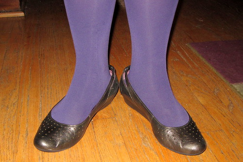Clarks Purple Shoes